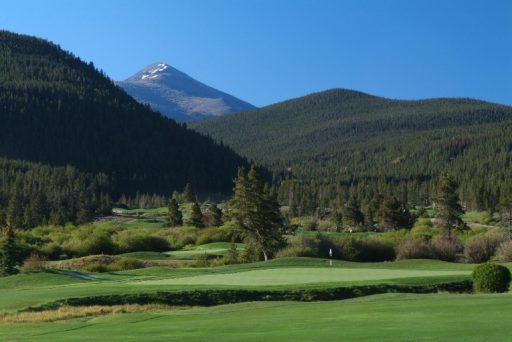 Breckenridge Golf Course, public golf course with mountain views