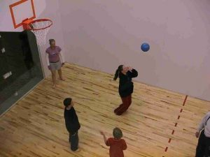 Indoor Gym for Basketball Volleyball Racquetball