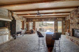 Indoor/Outdoor BBQ Room